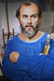 Gustav Klimt (Wachsfigur) Lizenzfreie Stockfotografie