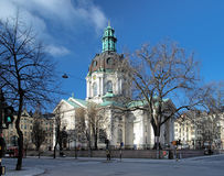 Gustav Vasa Church in Stockholm Royalty Free Stock Photography