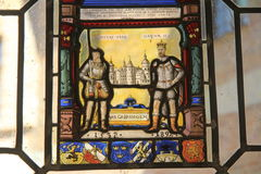 Gustav Vasa e Oscar II Imagens de Stock Royalty Free