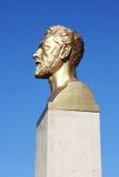 Gustave Eiffel bust Stock Photos