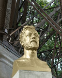 Gustave Eiffel Bust Stock Photography