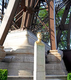 Gustave Eiffel monument Royalty Free Stock Photography
