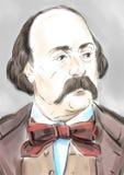 Gustave Flaubert απεικόνιση αποθεμάτων