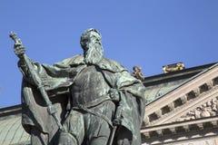 Gustavo Erici Statue by Hubert; Riddarhuset - Riddarhustorget Pa Stock Photography