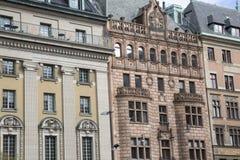 Gustavo II Adolf Square, Estocolmo Imagen de archivo libre de regalías