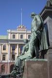 Gustavo II Adolf Statue; Estocolmo Fotografía de archivo libre de regalías