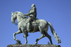 Gustavo II Adolf Statue; Estocolmo Foto de archivo