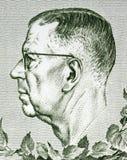 Gustavo VI Adolfo de Suecia Foto de archivo libre de regalías