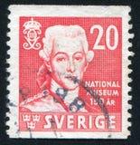 Gustavus国王III 库存照片