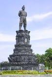 Gusti Ngurah Rai Roundabout, Bali, Indonesia. Image of the landmark giant statue of Gusti Ngurah Rai at a traffic roundabout close to the airport at Kuta, Bali Royalty Free Stock Photography