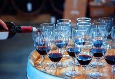 Gusto de vino imagenes de archivo