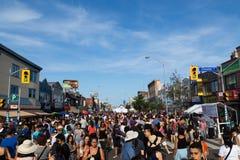 Gusto del Danforth Toronto immagini stock