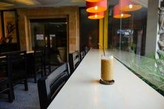 Gusto helado del café Fotografía de archivo libre de regalías