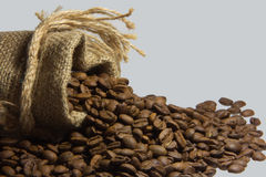 Gusto insaziabile di caffè da iniziare il giorno Fotografie Stock Libere da Diritti