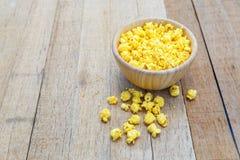 Gusto salato del formaggio del popcorn immagine stock
