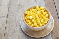 Gusto salato del formaggio del popcorn fotografia stock libera da diritti