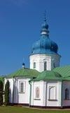Gustynsky修道院,乌克兰 免版税库存图片