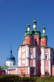Gustynsky修道院,乌克兰 免版税库存照片