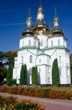 Gustynsky Holy Trinity convent Stock Photography