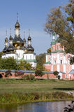 Gustynsky Holy Trinity convent Royalty Free Stock Photography