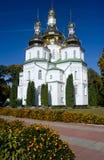 Gustynsky Holy Trinity convent Stock Image
