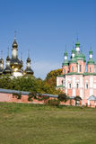 Gustynsky Holy Trinity convent Stock Photography