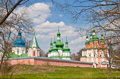 Gustynsky Monastery Royalty Free Stock Photos