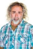 Gut aussehender Mann mit Grinsen Stockfotografie