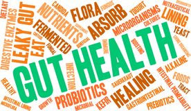 Gut Health Word Cloud