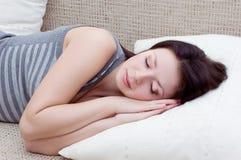 Gut schlafen Stockfoto