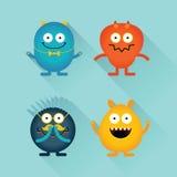 Gut und Böses-Monster und -charaktere vektor abbildung