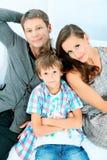 Gute Familie Stockfotografie