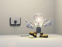 Gute Ideen-Abbildung Stockfoto