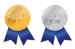 Gute Jobfarbbanddichtungen Lizenzfreies Stockfoto