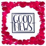 Gute Nachrichten stock abbildung