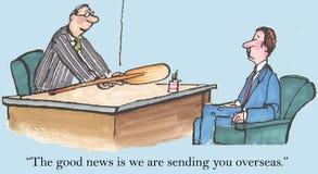 Gute Nachrichten Lizenzfreie Stockbilder