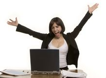 Gute Nachrichten Lizenzfreies Stockfoto