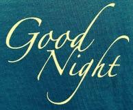 Gute Nacht Stockfotos