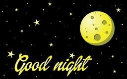Gute Nacht Lizenzfreie Stockbilder