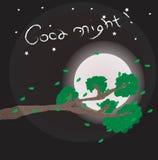 Gute Nachtillustration lizenzfreie stockfotografie