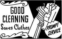 Gute Reinigungs2 lizenzfreie abbildung