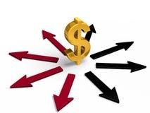 Gute und Fehlinvestitions-Wege Lizenzfreie Stockfotos