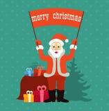 Gute Weihnachtsstimmung Stockfotos