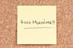 Guten Morgen Lizenzfreies Stockbild