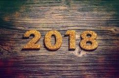 2018 guten Rutsch ins Neue Jahr Stockfotos