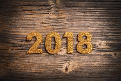 2018 guten Rutsch ins Neue Jahr Lizenzfreie Stockfotos