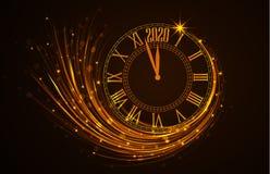 Guten Rutsch ins Neue Jahr 2020 Lizenzfreie Stockfotos