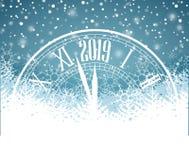 Guten Rutsch ins Neue Jahr 2019 Lizenzfreies Stockbild