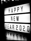 Guten Rutsch ins Neue Jahr 2020 Stockfoto