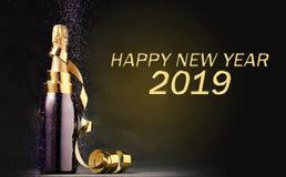 Guten Rutsch ins Neue Jahr 2019 lizenzfreies stockfoto